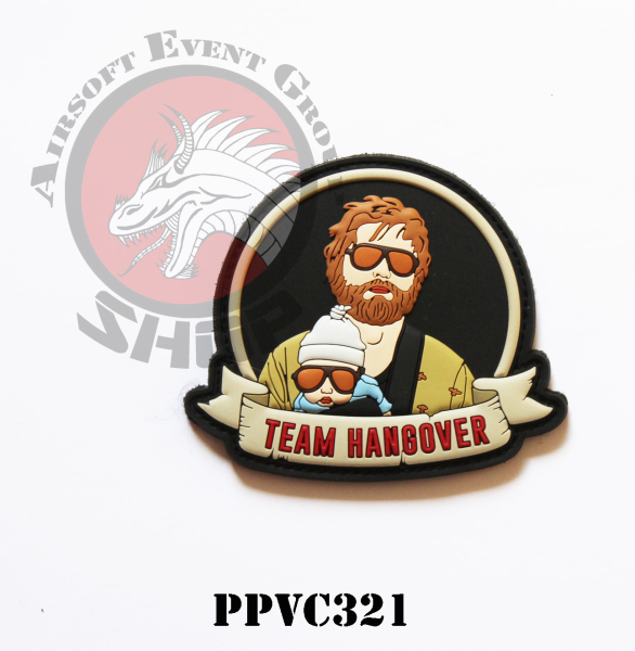 PATCH IN PVC TEAM HANGOVER UNA NOTTE DA LEONI