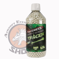 Rockets Tracer BB 0,25g 3000 Pcs green