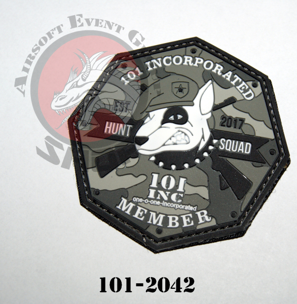 PVC 101 INC HUNT SQUAD GRAU