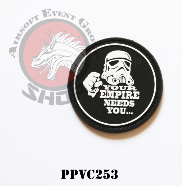 PVC PATCH YOUR EMPIRE NEEDS YOU..