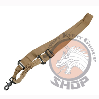 """One point bungee sling """"coyote"""""""