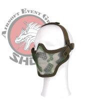 """Airsoft Schutz Maske """"woodland"""""""