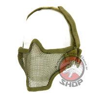 """Airsoft Schutz Maske """"green"""""""