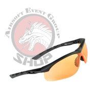 """SwissEye Sonnenbrille Lancer """"black orange"""""""