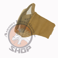 "Airsoft Face Mask NylonMesh ""coyote"""